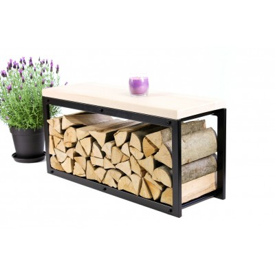 Firewood Bench